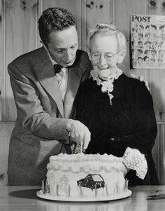 Grandma Moses and Norman Rockwell