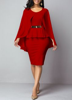Cheap red Dresses online for sale Tight Dresses, Casual Dresses, Trendy Dresses, Dresses Dresses, Spring Dresses, Cheap Dresses, Elegant Dresses, Blue Dresses, Shop Red Dress