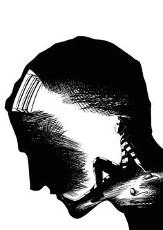 Bildergebnis für aussagekräftiges Zeichnen - Brenda O. Prison Drawings, Sad Drawings, Dark Art Drawings, Pencil Art Drawings, Art Drawings Sketches, Tattoo Sketches, Tattoo Drawings, Cartoon Drawings Of People, Cartoon People