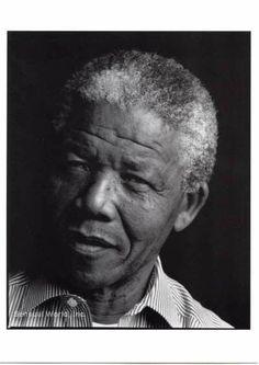 Nelson Mandela (Photo: Annie Leibovitz)