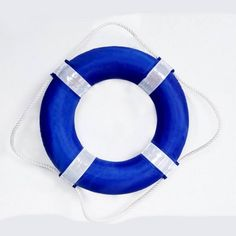 Blue Wave - Foam Pool Swim Ring Buoy