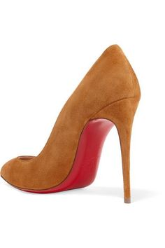 Christian Louboutin - Pigalle Follies 100 Suede Pumps - Yellow - IT41.5