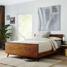 Cozy bedroom inspiration. Easy and bright interior design.