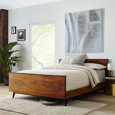 Cozy bedroom inspiration. Easy and bright interior design.