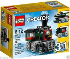 LEGO CREATOR 31015 Emerald Express 3-In-1 NEW Factory Sealed