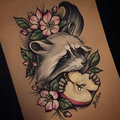 This is just soooo cute ugh, beautiful tatt