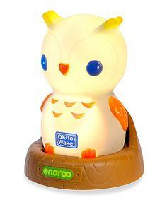 Onaroo Night Owl Ok to Wake! Portable Night-Light by Onaroo #zulily #zulilyfinds