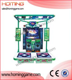 Crazy and stimulate dancing game machine Dancer 5/hot sale arcade game machine(sales@hominggame.com) http://www.hominggame.com/show_Product_en.asp?ID=116
