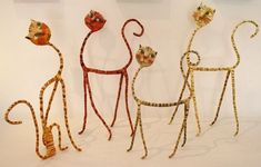 Sculptures - David Valeri During the girl's five-decade job, artist Viola Frey generated an impressive Art Fil, Paper Mache Sculpture, Clay Sculptures, Indian Artist, Paper Clay, Wire Art, Creative Gifts, Cat Art, Art Forms