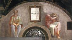 A moldura de aminadab veio com frescos de Michelangelo buonarroti em 1511-1512 aproximadamente e faz parte da decoração das paredes da Capela Sistina nos museus do Vaticano em Roma. Foi realizada no âmbito dos trabalhos à decoração da vez, encomendado por Júlio II.