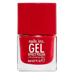 New at #Sephora: nails inc. Gel Effect Polish delivers a plumping effect for glossy, salon-quality nails. #SephoraNailspotting #nails #nailpolish