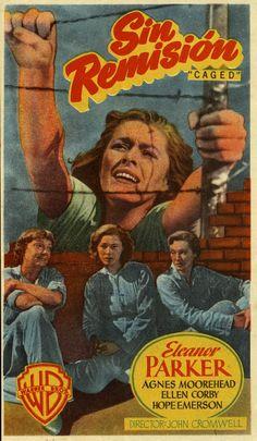 213.  Sin remisión. Dirigida por John Cromwell. [1950]. #ProgramasdeMano #BbtkULL #CineNegro #DiadelLibro2014