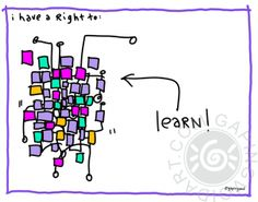 I Have A Right To Learn | gapingvoid art