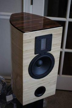 stacked baltic birch speakers