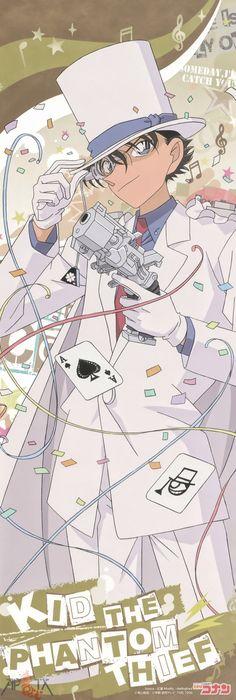 Detective Conan Magic Kaito Kaito Kid Kuroba Kaito