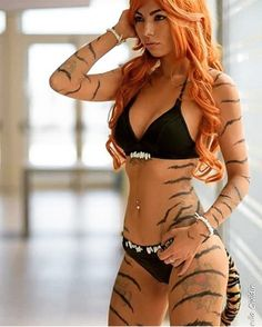 141 Likes 8 Comment Cosplay Outfits, Cosplay Girls, Cosplay Costumes, Amazing Cosplay, Best Cosplay, Marvel Cosplay, Beautiful Redhead, Girl Tattoos, Redheads
