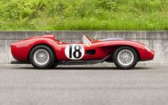 1957 Ferrari 250 Testa Rossa, the very first of its breed and this given the title of 'Prototype
