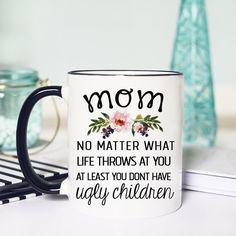 Etsy Funny Mug Mothers Day, Funny Mothers Day Mug, Mothers Day Mug Funny, Funny Mug Moms Day, Funny Mom #momhumor #mug #ad