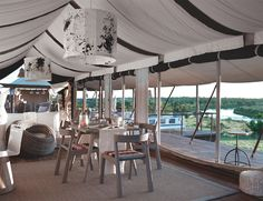 Luxury safari holiday at Singita Mara River Tented Camp, Tanzania