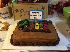 Monster Truck cake for my little cousin