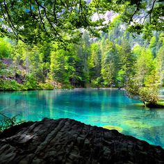 Blausee, Bern, Switzerland