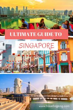 The Ultimate Guide to Singapore - Travel Homepage Singapore Guide, Singapore Map, Singapore Travel Tips, Singapore Itinerary, Visit Singapore, Singapore Things To Do, Holiday In Singapore, Japan Destinations, Holiday Destinations