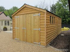 3.0 x 6.0m Superior Heavy Duty Featheredge Garage