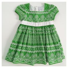 Check out this listing on Kidizen: Gap Green Eyelet Party Dress via @kidizen #shopkidizen
