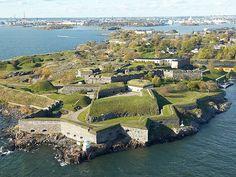 Finland, Helsinki, Suomenlinna fortress