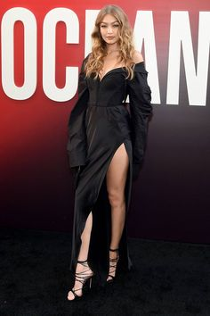 Gigi Hadid in Vera Wang - 'Ocean's 8' World Premiere, New York - June 5 2018