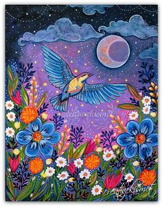 Moon Dance - Art by Regina Lord