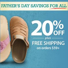 Fatherly advice…. Celebrate Father's Day with 20% OFF + FREE SHIPPING on orders $59+.  Use Code: PNFATHER