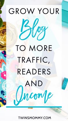 Frustrated that you don't have any blog traffic? Learn how to gain more traffic, readers and income by following how I'm doing it! Click here to learn more.