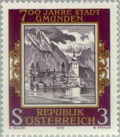 Sello: Orth Castle in Gmunden (Austria) (Gmunden) Mi:AT 1576,Yt:AT 1405,ANK:AT 1608