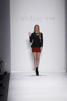 Whitney Eve RTW Fall 2012