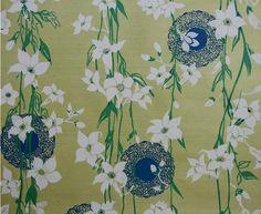 inez croom - vintage wallpaper