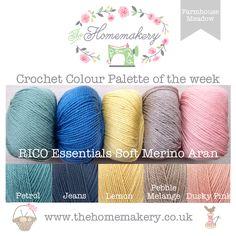 Crochet Colour Palette: Farmhouse Meadow - The Homemakery Blog