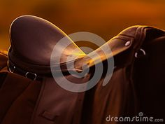 Traditional Saddle On A Horseback In Sunset Stock Photo - Image of tack, object: 38078002 Photos For Sale, Stock Photos, Tack, Vectors, Sign, Traditional, Sunset, Free, Image