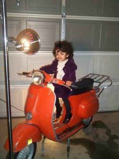 @Amanda Smith  Prince on a scooter | 22 Amazing Kids' Halloween Costumes That They're Too Young To Understand