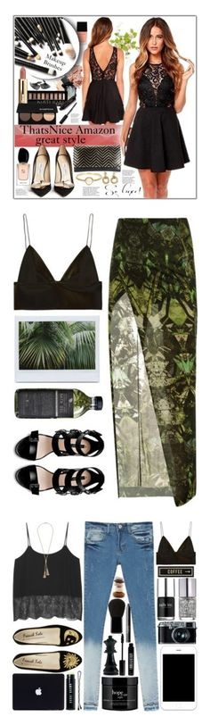 """Noli"" by flady ❤ liked on Polyvore featuring beauty, Gorgeous Cosmetics, Witchery, Forever 21, Bobbi Brown Cosmetics, Avenue, Smashbox, Tiffany & Co., Irene Neuwirth and Jimmy Choo"