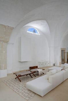 Gravity Home: 17th-Century Oil Mill Turned Into Light Italian Country Home