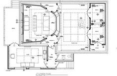 Wes Lachot design - New Recording Studio in Slovenia (Europe) Audio Studio, Music Studio Room, Recording Studio Design, Film Studio, Music Rooms, The Plan, How To Plan, Studio Floor Plans, Rehearsal Studios