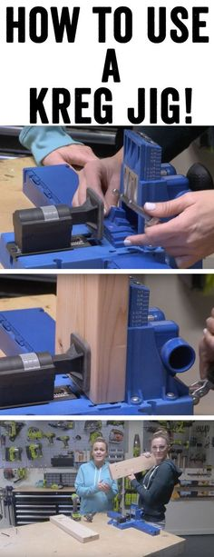 121 Best How To Use A Kreg Jig Images On Pinterest In 2018 Kreg