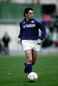 Roberto Baggio, Best Football Players, Don Juan, Fifa World Cup, Rey, Soccer, Running, Vintage, Legends