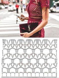 надежда кирилина (кудрявцева) - Photo from album Crochet Summer Dresses, Crochet Summer Tops, Crochet Skirts, Crochet Cardigan, Crochet Clothes, Crochet Diagram, Crochet Chart, Crochet Motif, Crochet Lace