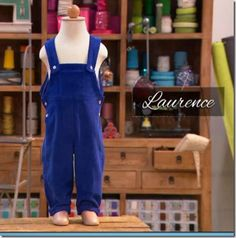 Cousu Main : Salopette pour enfant - Laurence #cousumain #salopette