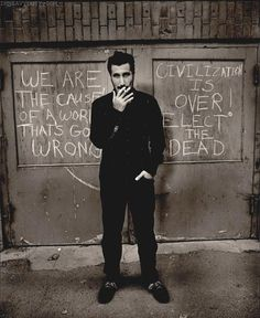 The man is a genius. Serj Tankian - System of a Down