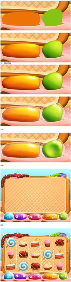 甜甜圈图标-UI设计@uimaker采集到图标设计(2509图)_花瓣UI 交互设计
