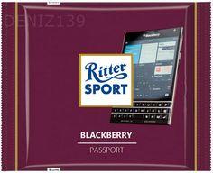 RITTER SPORT Fake Schokolade Blackberry