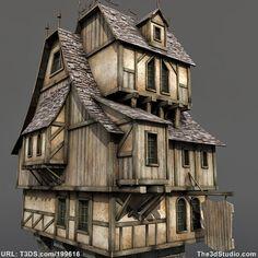 3d models Medieval House